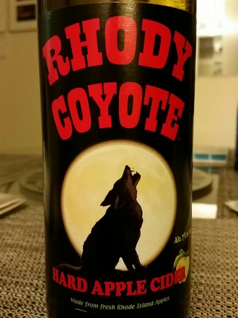 Rhody Coyote Hard Cider At Newport Vineyards